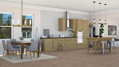 Artisan Kitchen - Kitchen - by lovedsign