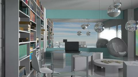 rainbow - Eclectic - Office - by chania