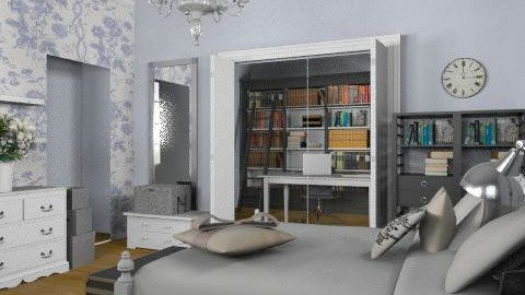 Scandinavian Style - Vintage - Bedroom - by laurawoodley