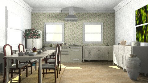 Provenza- kitchen - Rustic - Kitchen - by ARMIDA 1