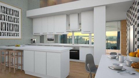 Fresh 2 - Modern - Kitchen - by KRdesign