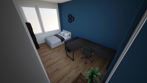 Ingericht boven - Bedroom - by Finnoost