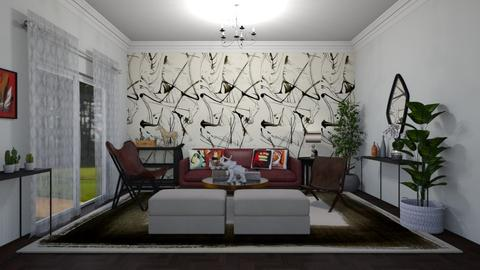 sala original - Living room - by Tainaraa