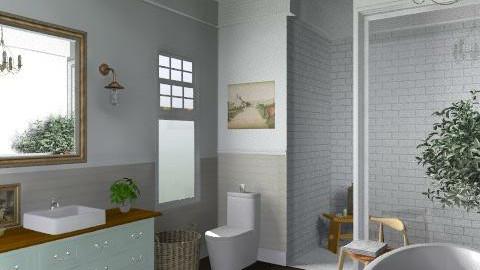 Newport Beach Main Bath2 - Vintage - Bathroom - by LizyD