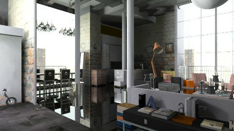 WarehouseProjekte - Eclectic - Living room - by mem urquijo