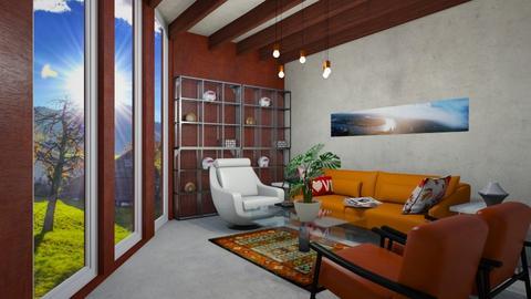 mediados - Living room - by wiwa
