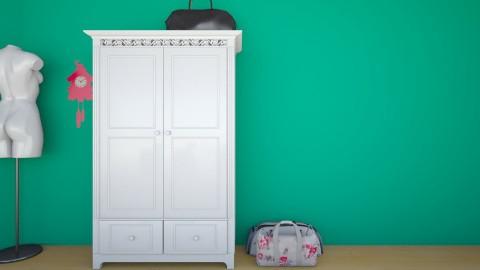 romina - Bedroom - by romina pereira
