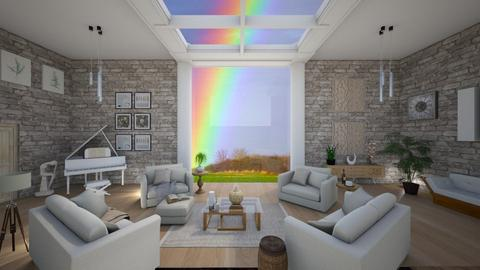 natural light 80monkeyn - Living room - by 80monkey