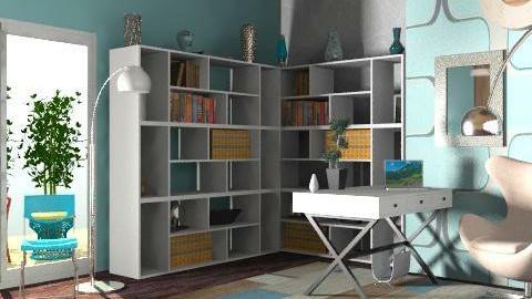 mimi's office. - Modern - Office - by Calolynn