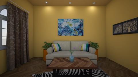 Modern Living 2 - Living room - by Katie Khambata