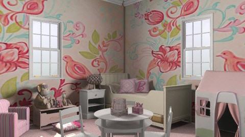 kkk - Classic - Kids room - by Cejovic Andrijana