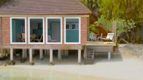 The Little Hut on the Beach - Rustic - Garden - by jjagodzinski