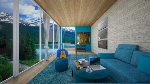maharam bedroom  - Modern - Bedroom - by Badgalriri