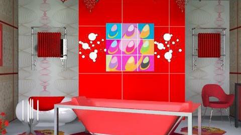 bathroom - Classic - Bathroom - by asifgoldpk
