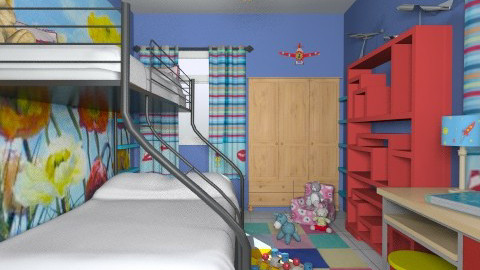 For Sharminet-kids/guest room - Eclectic - Kids room - by Theadora