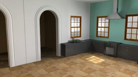retro kitchen - Retro - Kitchen - by oscalora