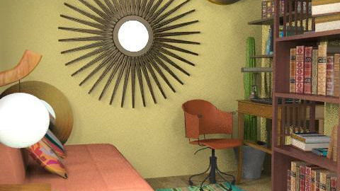Mexican inspired - Rustic - Office - by carolinafer