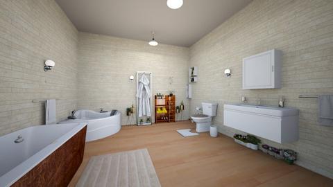 bathroom - by Evoh Lopez