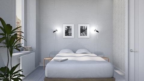 minimal bedroom - Bedroom - by siljaj