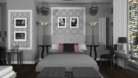 Modern Great Gatsby - Modern - Bedroom - by JordanLane