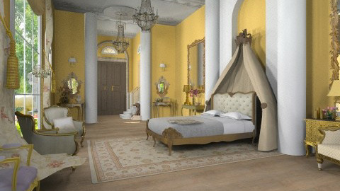 fit for a princess - Classic - Bedroom - by minervinoi