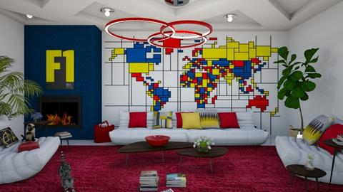 MA 123 - Living room - by matina1976