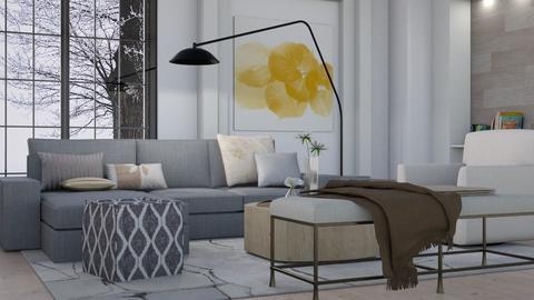 Simplistic Tones - Modern - Living room - by millerfam