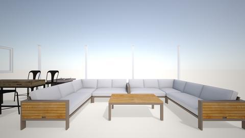 patio TV - Garden - by pureshot