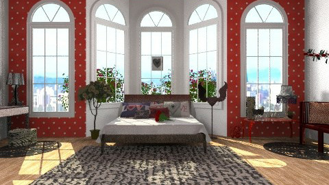 LOVE - Glamour - Bedroom - by norli99