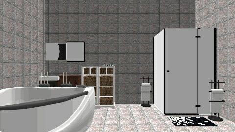 bathroom - Modern - Bathroom - by PSophie