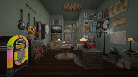 vintage shop - by sorroweenah