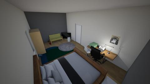 jelle kamer - Vintage - Bedroom - by pleun