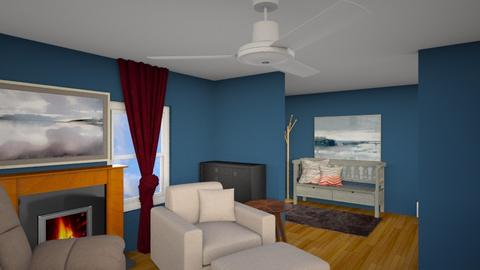 CHANGED DOWNSTAIRS - Living room - by FLIPCRESTED