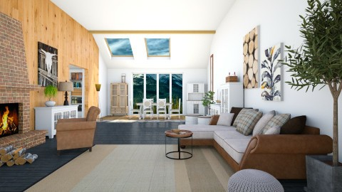 Canadian - Country - Living room - by kashanka