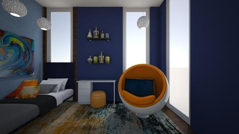 Small Bedroom 16 - Modern - Bedroom - by XiraFizade