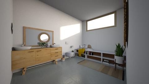 Mid Century Mod Bathroom - Bathroom - by Sarah Anjuli