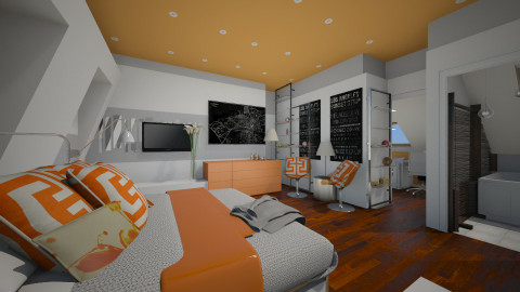 Putney Template - Modern - Bedroom - by sometimes i am here