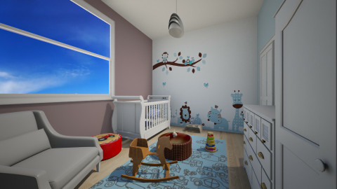 jungle nursery - Classic - Kids room - by sofia95