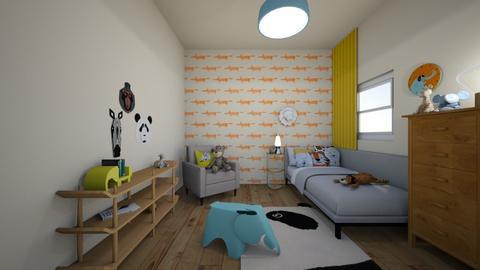Animal bedroom - Global - Kids room - by Ster