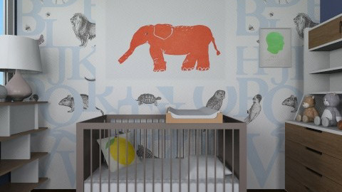 Mr Perswall - Kids room - by lauren_murphy