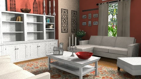 Cozy Living - Classic - Living room - by egrimsley
