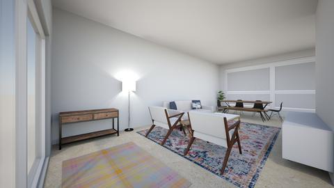TV on internal wall - Living room - by karencroci