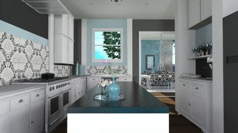 Modern Classic Country - Classic - Kitchen - by cara_98