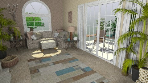 Florida Room - Eclectic - by Patti58