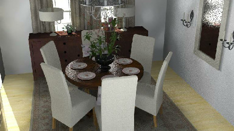 Formal Dining Room2 - Dining Room - by lmbenin