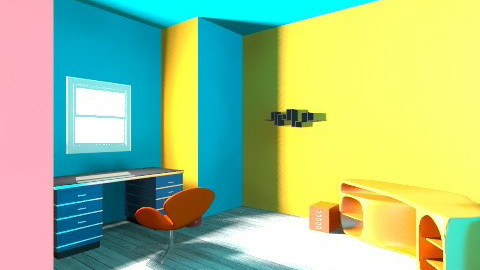 office room - Retro - Office - by csongifoci