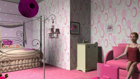 Rosie - Country - Bedroom - by kristiina123
