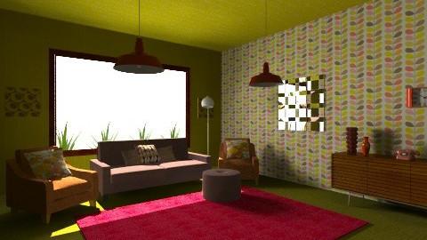 1970s Modern Living Room - Retro - Living room - by tillsa98
