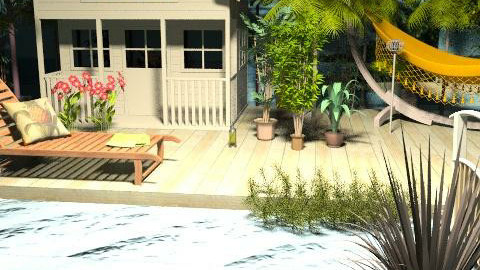 Beach house - Classic - by szalaiedit