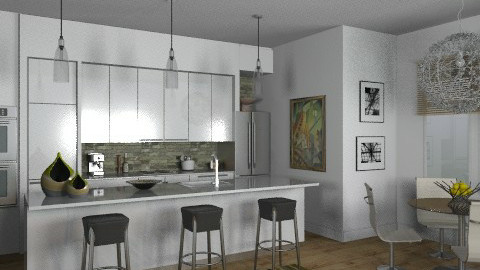 Random Spaces - Kitchen 2 - Modern - Kitchen - by LizyD